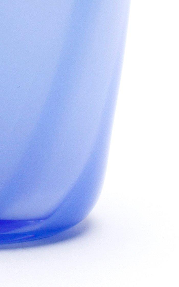 Powder Blue & Sky Blue Stroke Vase