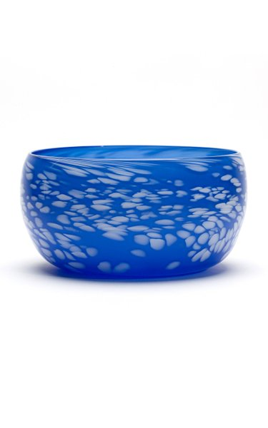 Blue & White Spotted Bowl