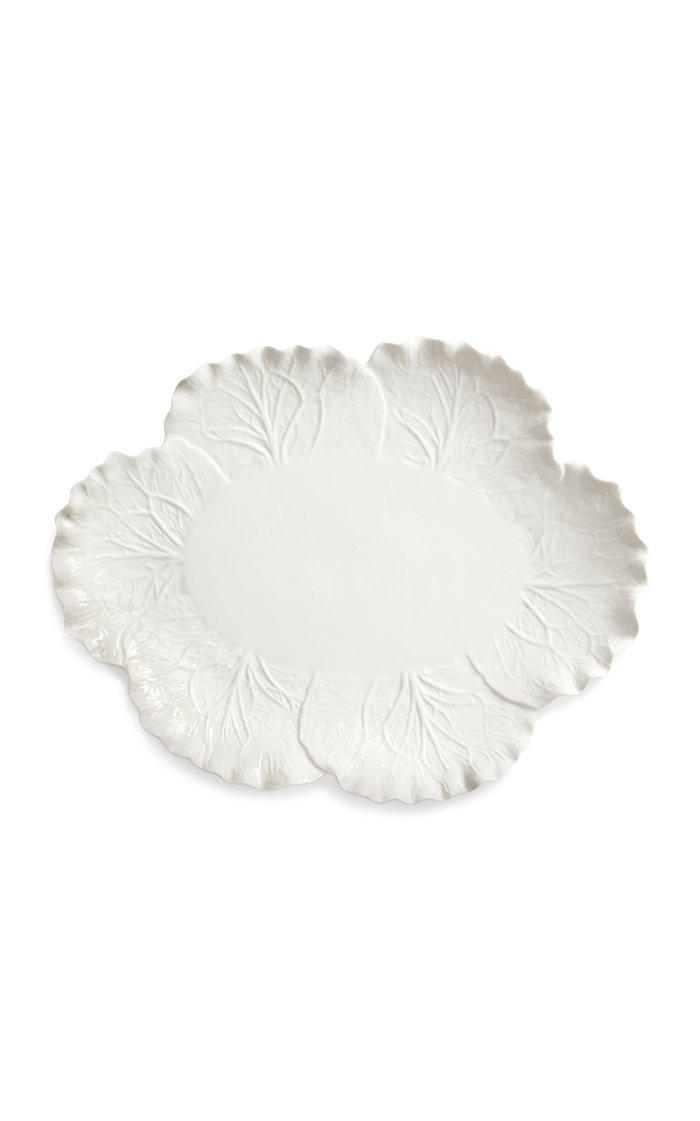 Lettuce Ware Oval Serving Platter