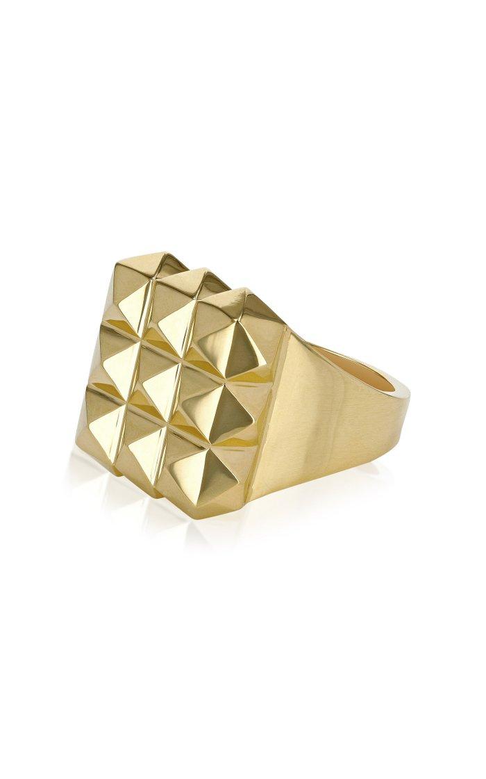 Portas 18K Gold Ring