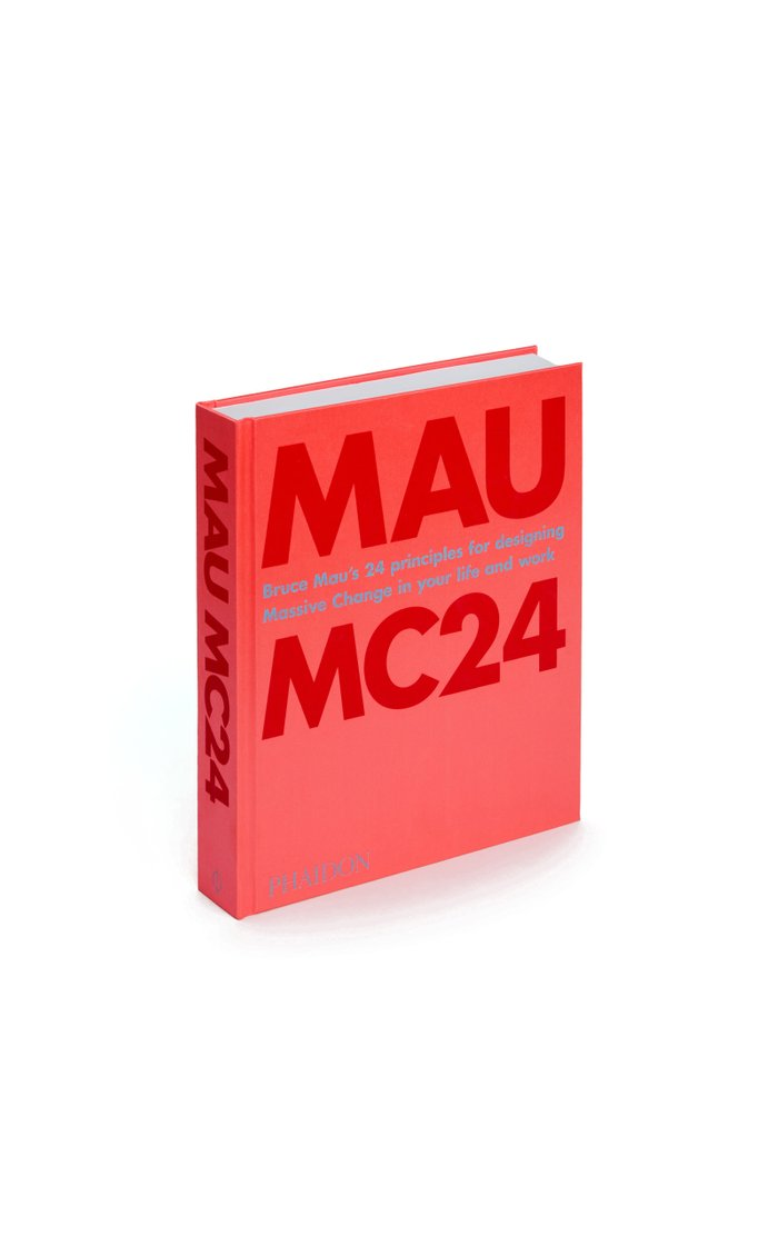 Bruce Mau: MC24 Hardcover Book