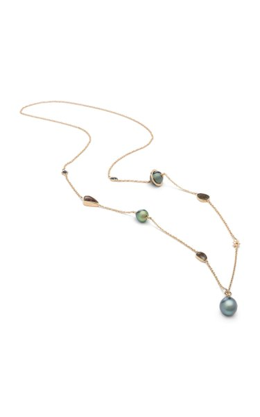 Galaxy 18K Rose Gold And Multi-Stone Necklace