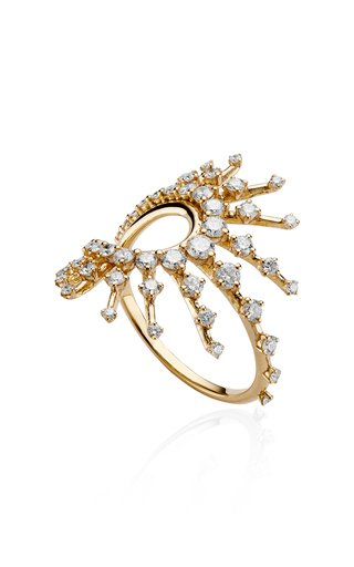 Clarity Diamond 18K Yellow Gold Ring