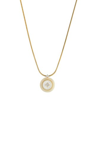 Signal 18K Yellow Gold Multi-Stone Necklace