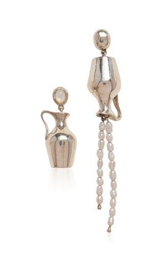 Vessel Sterling Silver Earrings