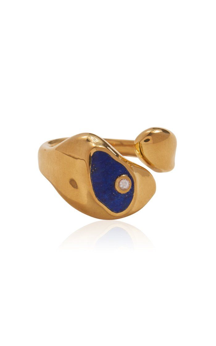 Hilma 14K Gold-Plated Ring