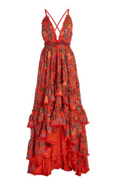 Primrose Sequined Crepe Gown