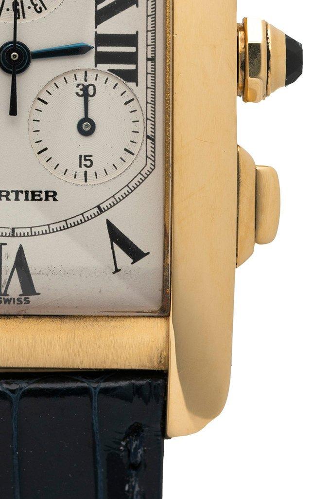 Cartier Tank Americaine Chronograph Watch
