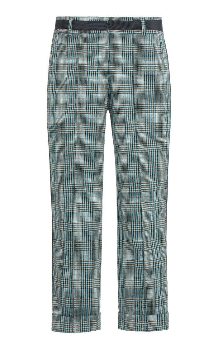 Garmet Plaid Cotton Pants