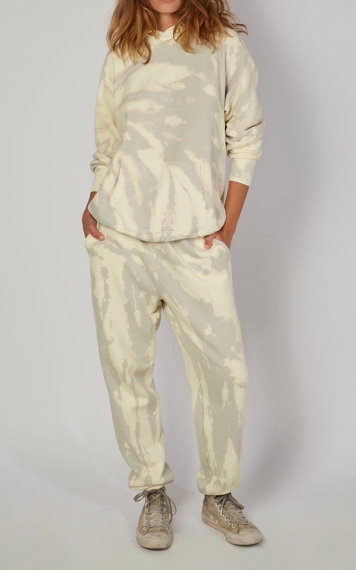 Exclusive Classic Tie-Dyed Cotton Sweatpants