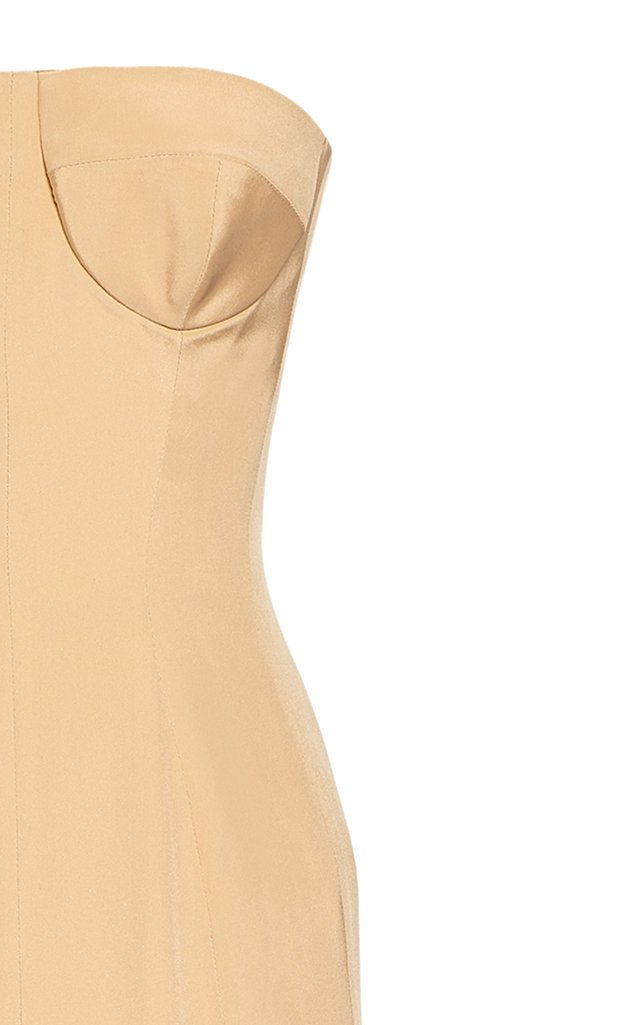 Silk Chiffon Cape And Silk Dress