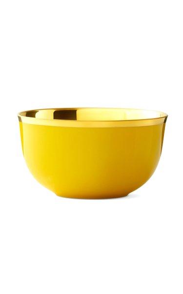 Yellow Champagne Bowl