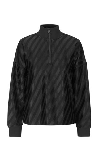 Stewart Striped Jacquard Track Top