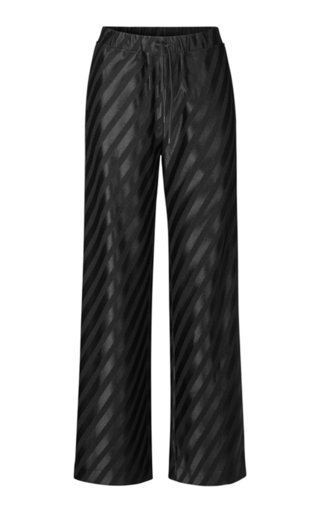 Danny Striped Jacquard Track Pants
