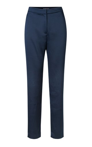 Besara Satin Straight-Leg Trousers