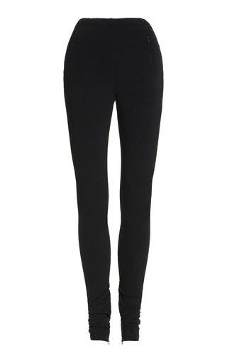 Side-Split Jersey Leggings