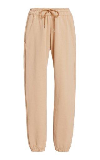 Drawstring Cotton Track Pants