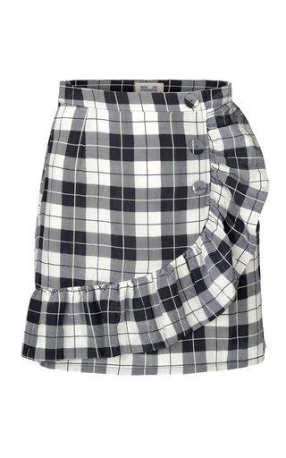 Sabeeha Ruffled Mini Skirt