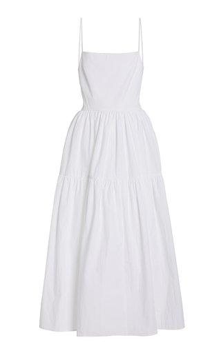 Gioia Open-Back Cotton Dress