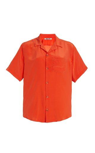 Gio Silk Button-Down Shirt