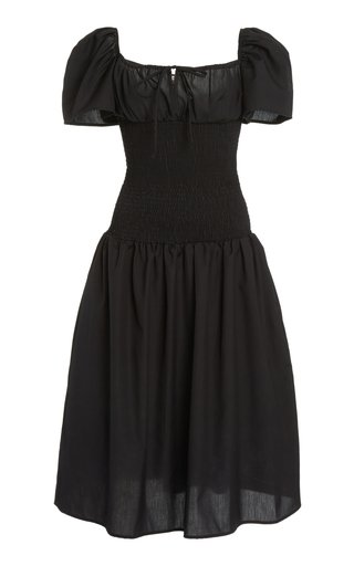 Chiara Smocked Midi Dress
