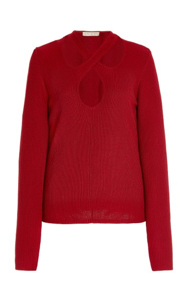 Kirstie Cotton-Blend Knit Sweater
