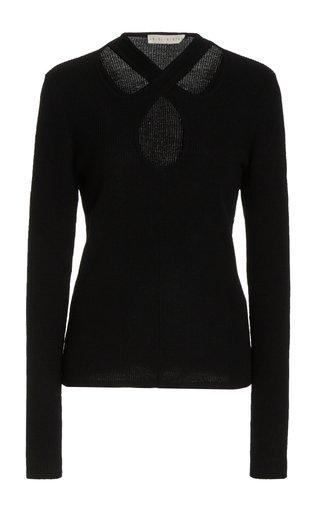 Kirstie Cotton-Blend Knit Sweater