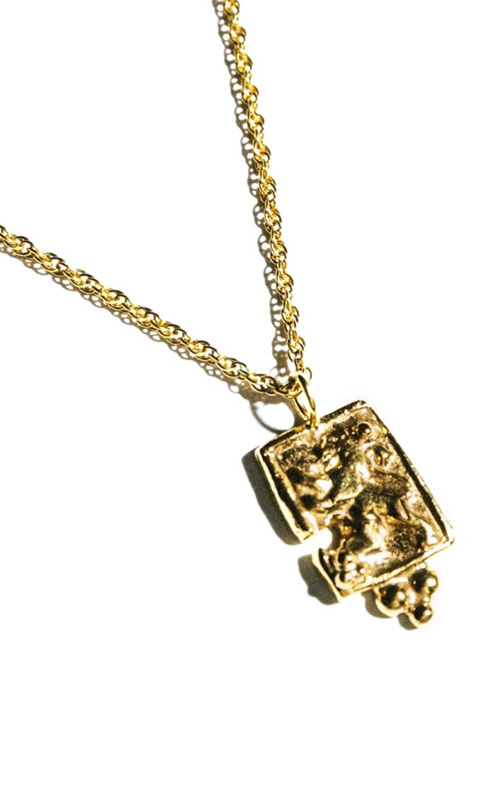 Royal Prowess 24K Gold-Plated Necklace