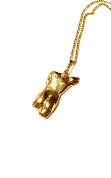 The Last Grace 24K Gold-Plated Necklace