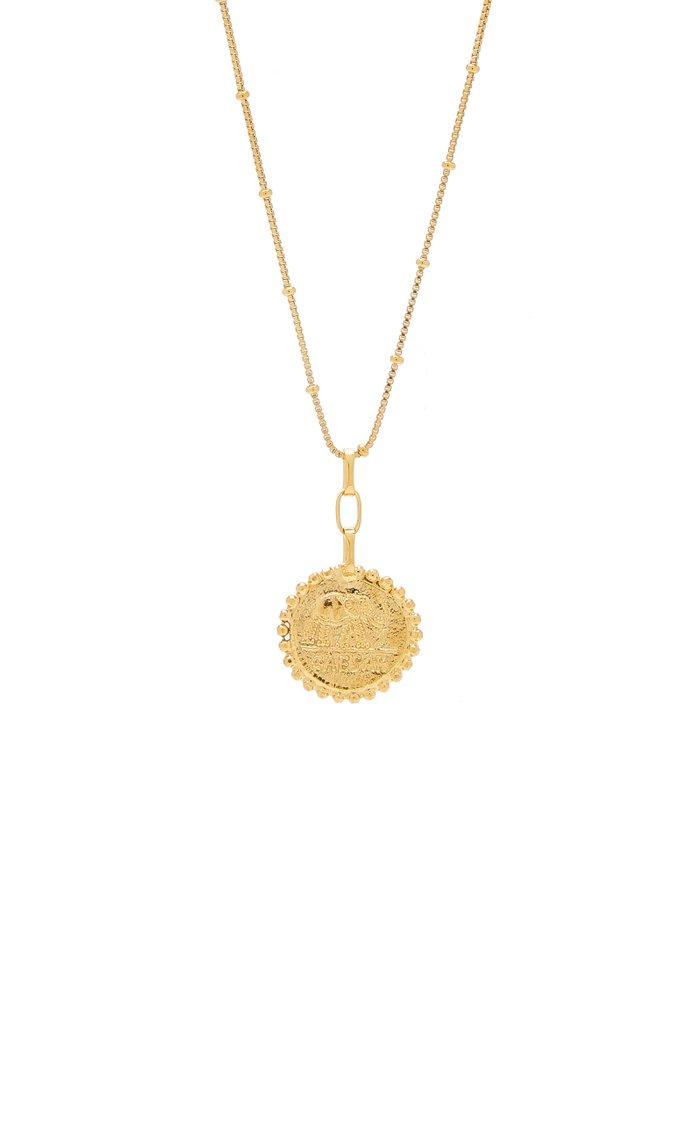 Elephant Gallant Amulet 24K Gold-Plated Necklace
