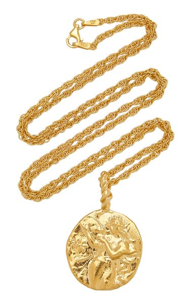 Last Lyre 24K Gold-Plated Necklace