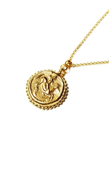 The Mare of Estoi 24K Gold-Plated Necklace