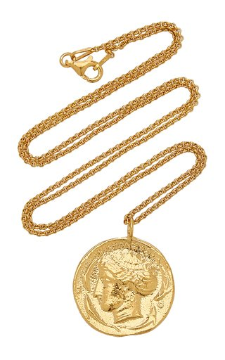 Syracuse 24K Gold-Plated Necklace