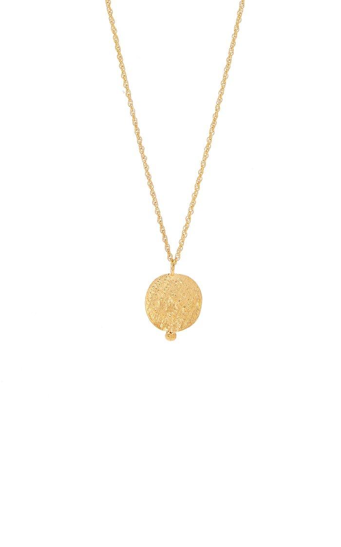 Leo of Babylon 24K Gold-Plated Necklace