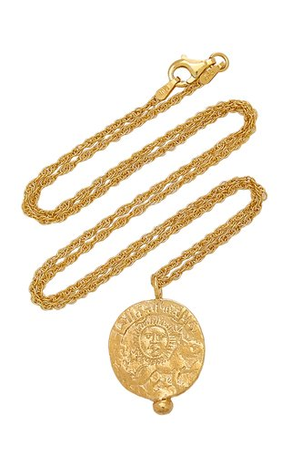 Leo of Babylon 24K Gold-Plated Necklace