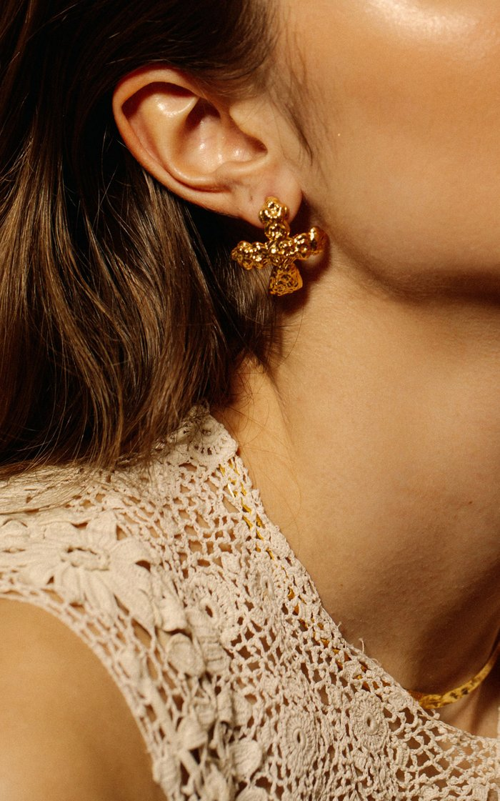 The Lost Opulence 24K Gold-Plated Earrings