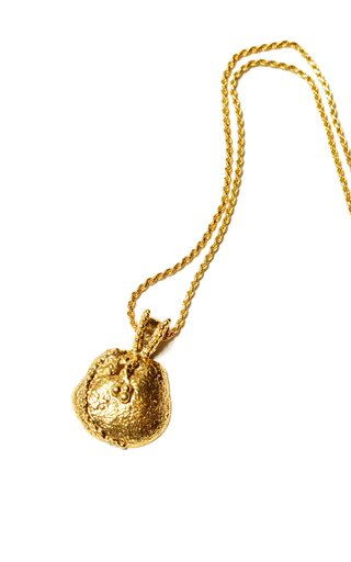 Gilded Chancel 24K Gold-Plated Necklace