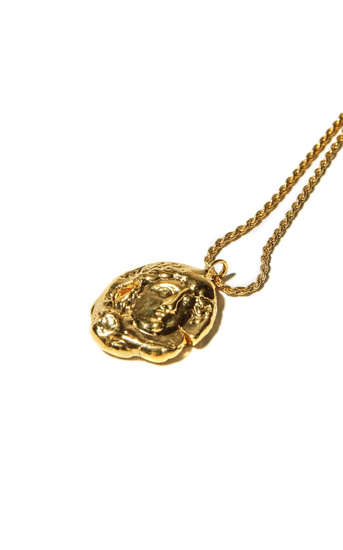 Birth of Venus 24K Gold-Plated Necklace