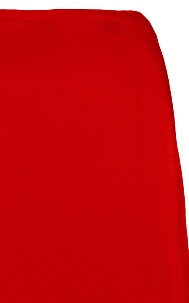 Double-Faced Satin Maxi Skirt