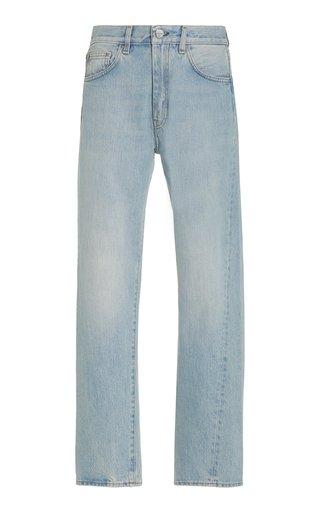 Original Twisted-Seam Rigid Mid-Rise Straight-Leg Jeans