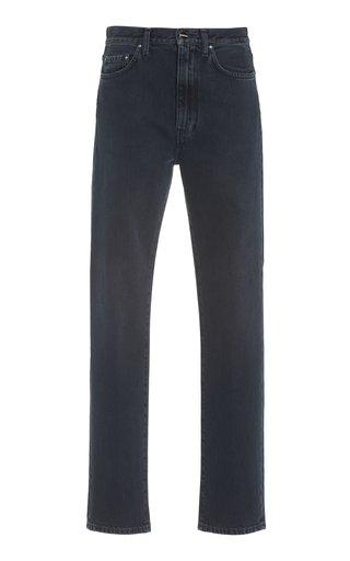 Regular-Fit Rigid High-Rise Straight-Leg Jeans