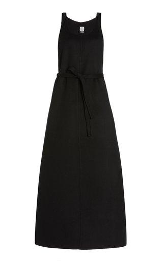 Double Wool Midi Dress