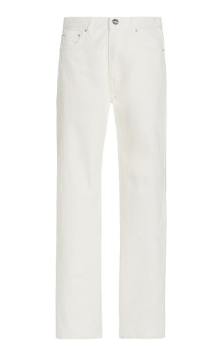 Original Twisted-Seam Rigid Mid-Rise Straight-Leg Jeans