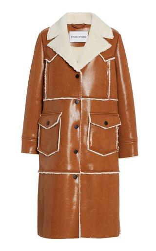 Adele Faux Fur Long Coat
