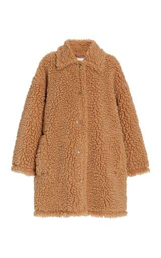 Jacey Oversized Faux Shearling Jacket