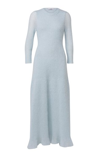 Airy Attitude Mohair-Blend Midi Sweater Dress