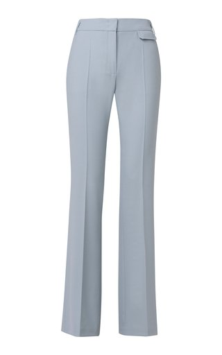 The New Ambition Wool-Blend Flared Trousers