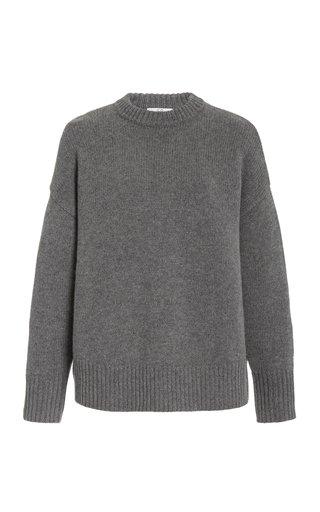 Oversized Wool-Cashmere Knit Sweater
