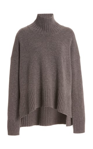 Wool-Cashmere Turtleneck Sweater