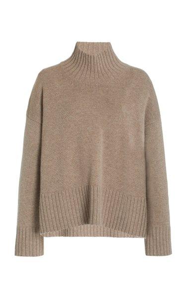 Wool-Cashmere Turtleneck Sweater
